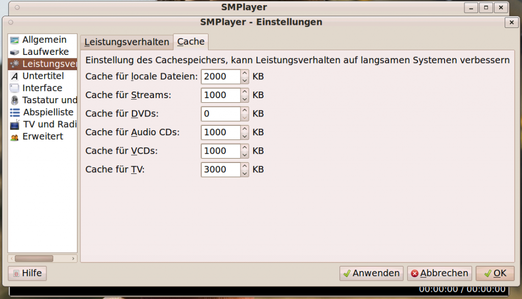Linux SMPlayer VAAPI Settings #3