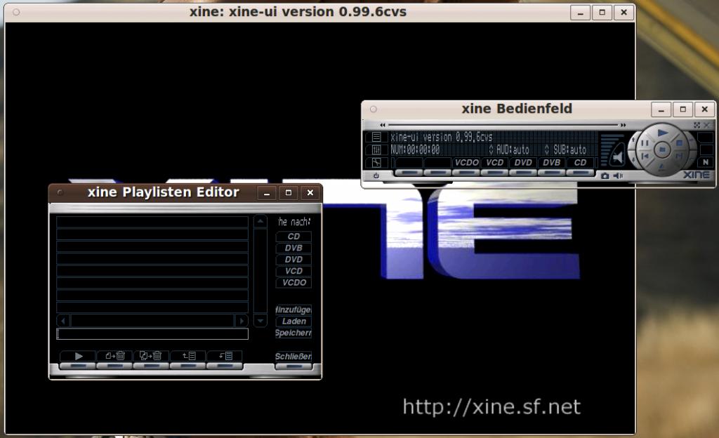 Linux XINE VDR
