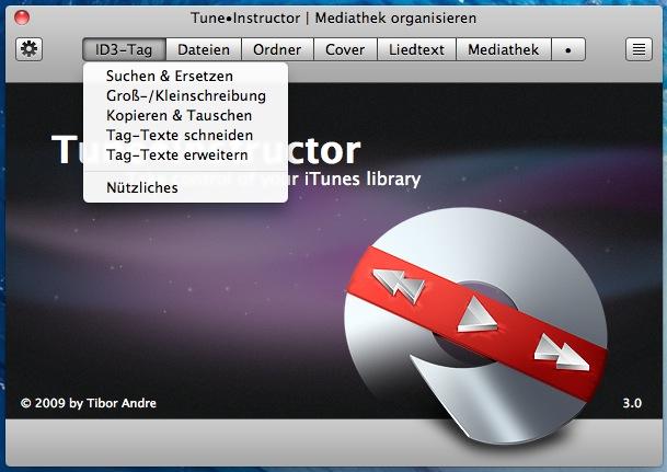 osx tuneinstructor 1 - iTunes - Musik nach dem Dateipfad sortieren