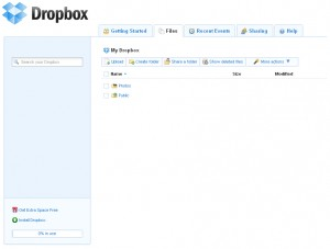 software dropbox browser 300x227 - Linux - Dropbox mit X- und ohne X-Server