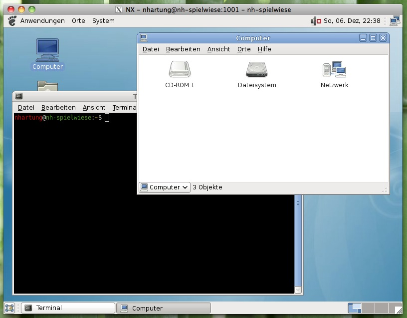 linux osx nxclient 2 - Debian - sichere VNC/RDP Alternative - NX-Server