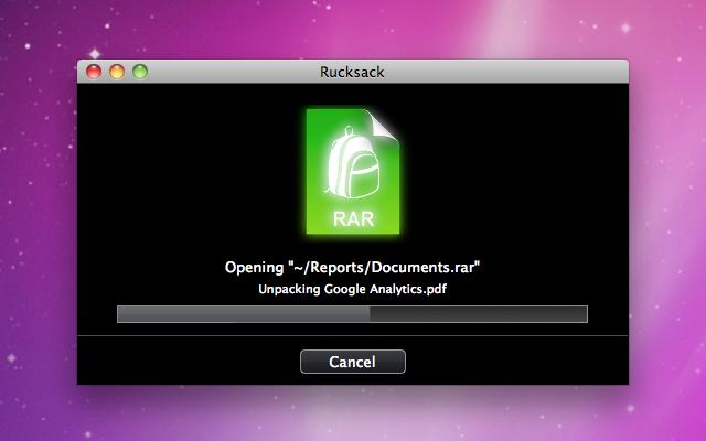 OSX Rucksack #1