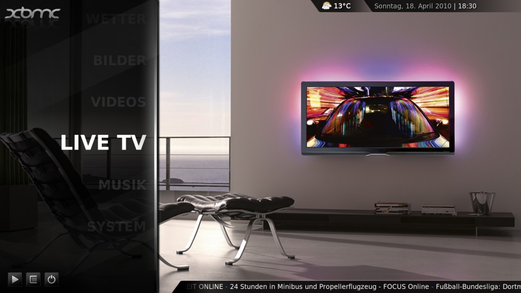 XBMC Live TV