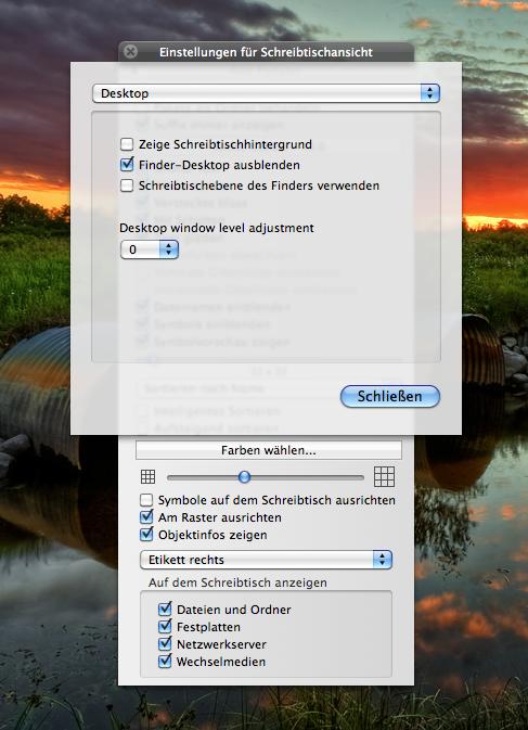 OSX - Path Finder Desktop - Schreibtischhintergrund