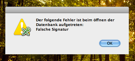 OSX Timemachine Filevault SparseBundle - Keepass Fail