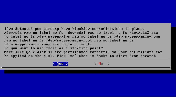 arch lvm 02 - Arch Linux - Installation mit verschlüsseltem LVM