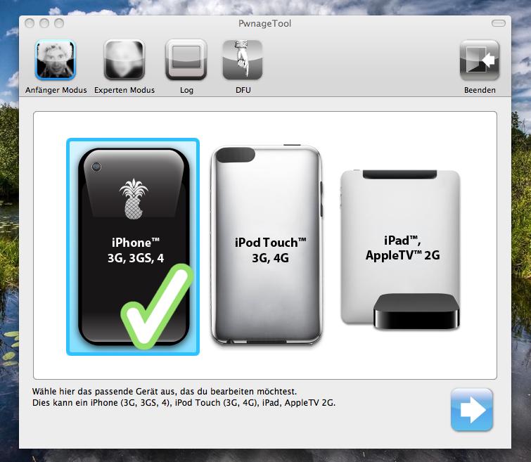 iphone ios431 pwangetool - redsn0w & PwangeTool - untethered Jailbreak iOS 4.3.1 - iPhoneDev-Team