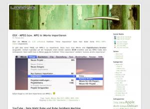 Blog - loggn.de - Theme Kubrick