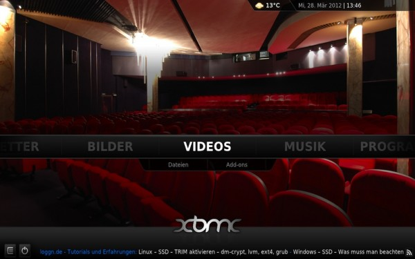 xbmc eden ubuntu airplay 600x375 - Ubuntu - Repository - XBMC 12.0 - Frodo mit Airplay und Live TV