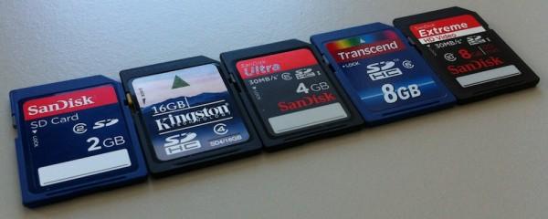SD (SDHC) Karten für den Raspberry Pi