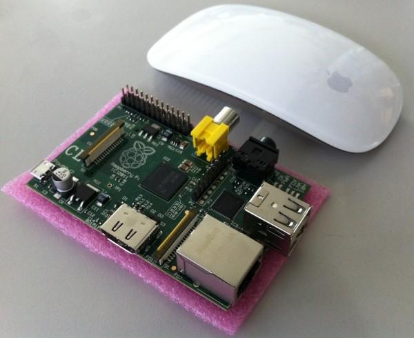 Raspberry Pi - Größenvergleich