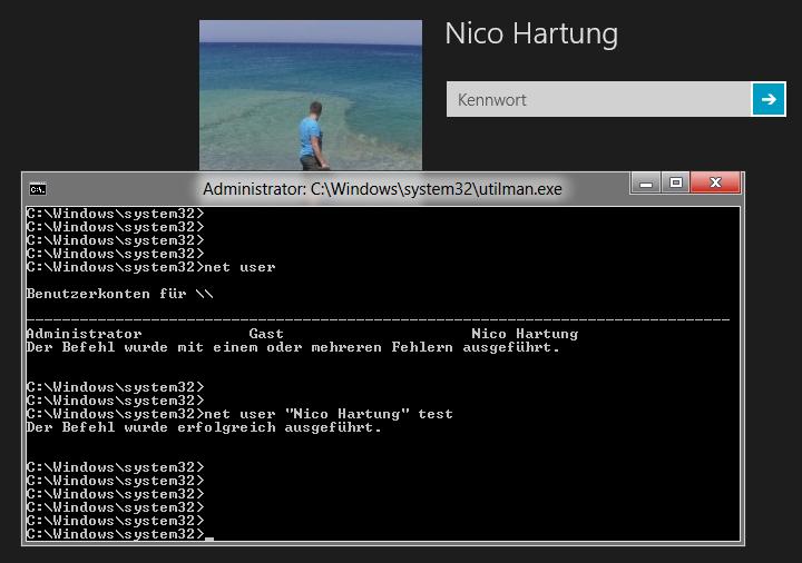 Windows 7 Admin Passwort Auslesen