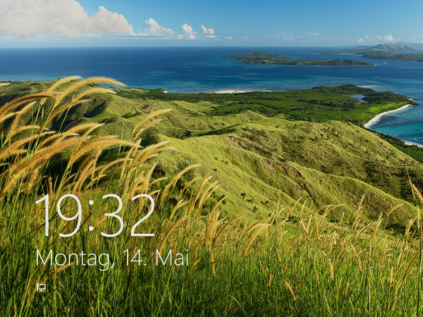 Windows 8 - Lockscreen