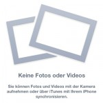 iOS - iPhone - keine Fotos oder Videos