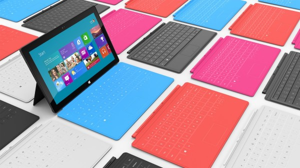 microsoft surface 600x337 - Microsoft Surface - 10.6 Zoll Hybriden - Windows RT und Windows 8