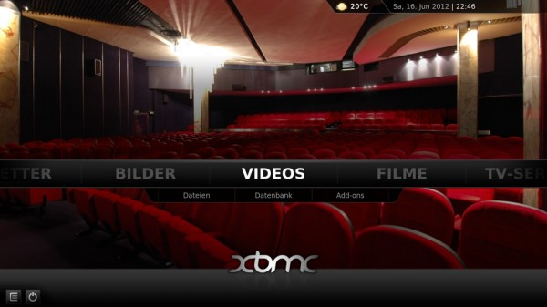 XBMC – Video Homescreen