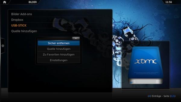 xbmc usb datentraeger sicher entfernen 600x337 - Arch Linux - USB-Sticks und SD-Karten automatisch mounten und als normaler User sicher entfernen - Version 2