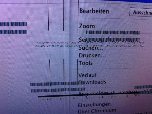 Mac OS X - Mac mini mit Intel i7 - Grafikfehler - stürzt ständig ab