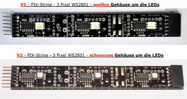 V1 oder V2 - led-studien.de - PIX-Stripe WS2801