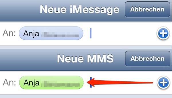 iOS 6 - verknüpfte Facebook Mailadresse hat eine höhere Priorität als iMessage