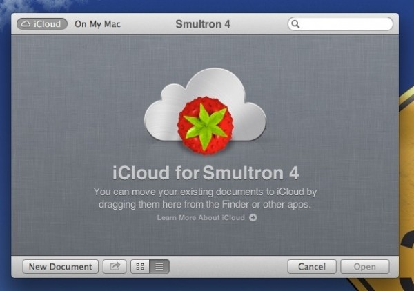 "Mac OS X - Standardspeicherort ""iCloud"""