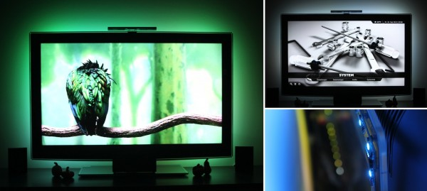 SEDU Ambilight mit HPTC / Media-PC in Aktion