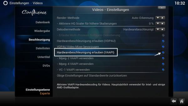 XBMC - Hardwarebeschleunigung-hw-acceleration
