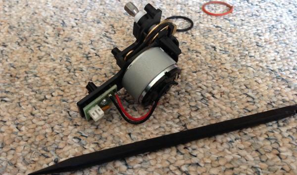 Vorwerk Kobold VR100 - Seitenbürsten Motor