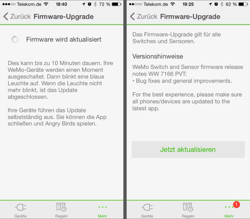 belkin wemo firmware 800x702 - Erfahrungsbericht – Belkin WeMo Switch - Smart Home