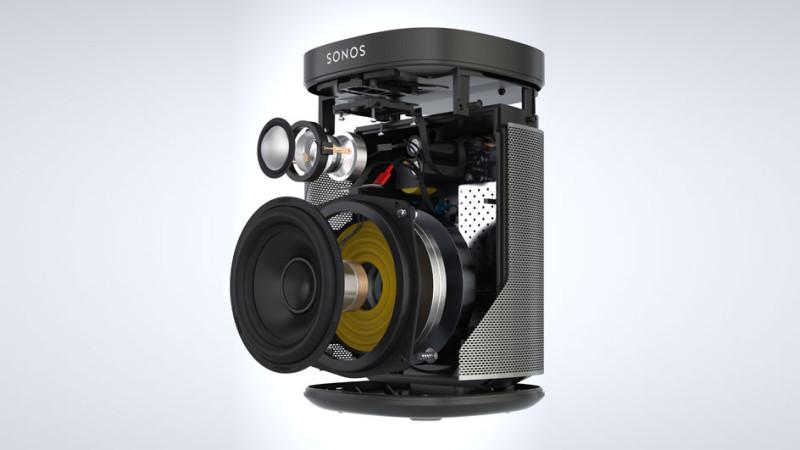 Sonos Play:1 - 3D Rendering