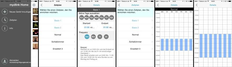 nk Smart Plug - DSP-W215 - App - Zeitpläne
