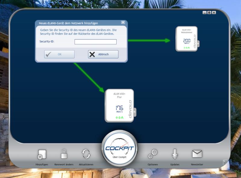 devolo cockpit neues geraet hinzufuegen 800x590 - Erfahrungsbericht – Devolo dLAN 1200+ WiFi ac – PowerLAN mit WLAN