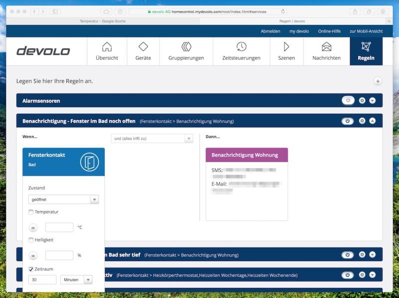 Devolo intelligentes Thermostat Regel2 800x597 - Erfahrungsbericht – Devolo Home Control - Fensterkontakt und Heizkörperthermostat