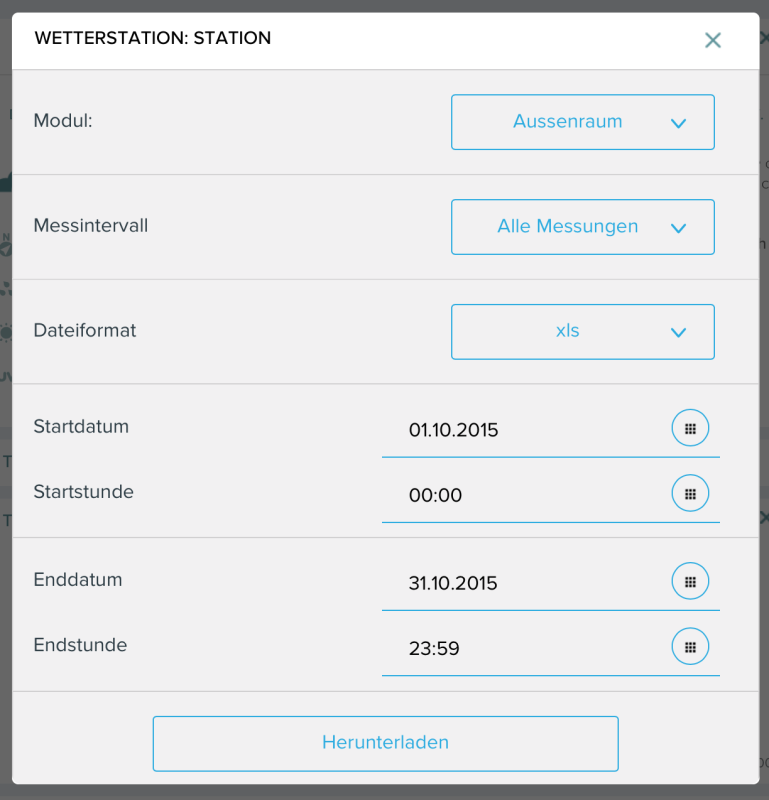 Netatmo Daten download als CSV 769x800 - Test – netatmo Wetterstation