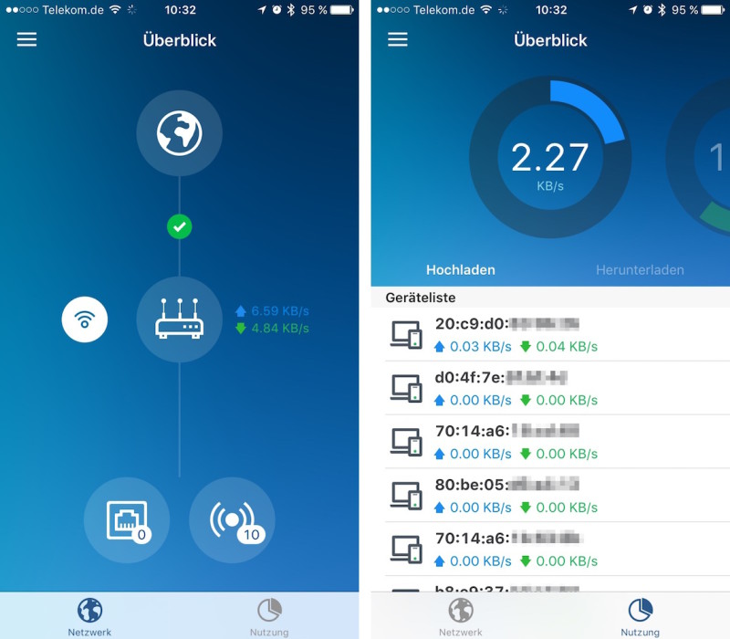 Synology RT1900ac - iOS App