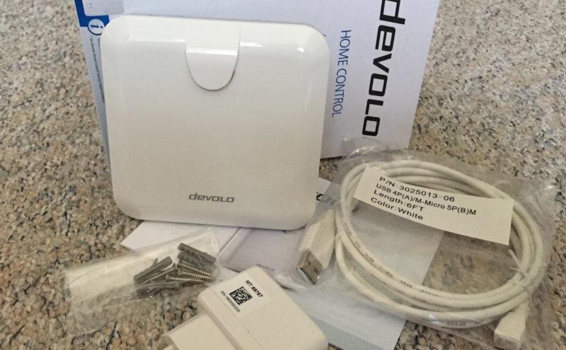 devolo arlarmsirene ovp und lieferumfang 800x495 - Test – Devolo Home Control – Alarmsirene als Alarmanlage