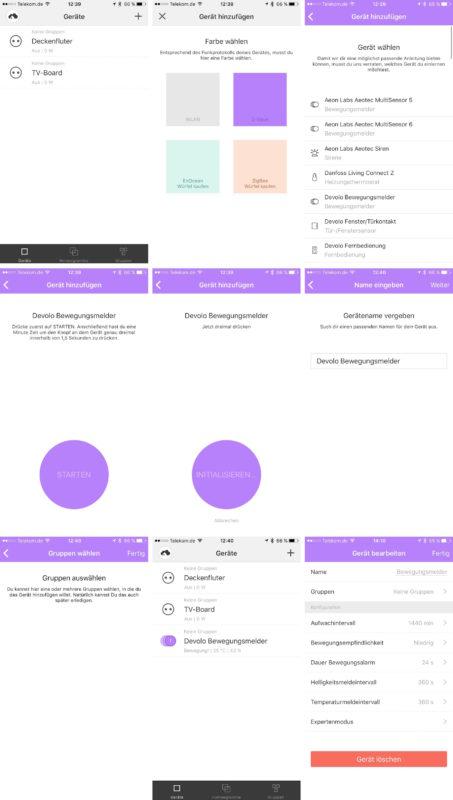 homee geraet hinzufuegen 453x800 - Erfahrungsbericht - Einrichtung von homee und Geräte verbinden