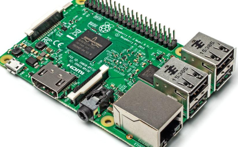 raspberry pi 3 825x510 - Info - Raspberry Pi 3 - farbiges Quadrat rechts oben am Rand