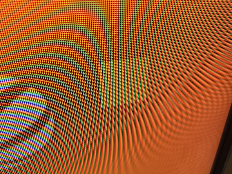 Raspberry Pi 3 - Gelbes Quadrat