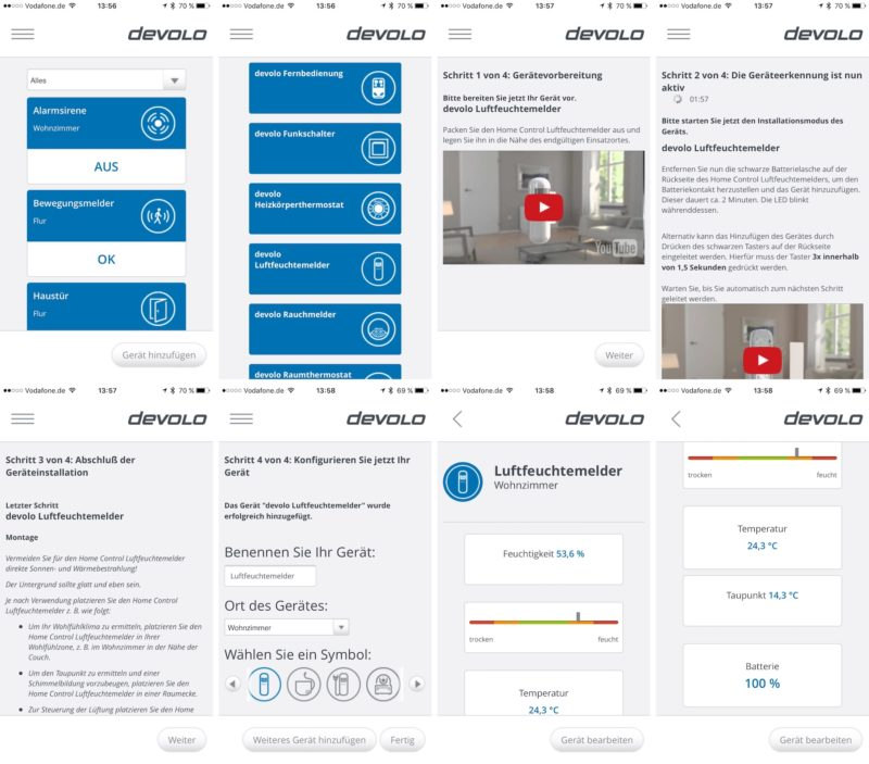 devolo luftfeuchtemelder einbindung 800x703 - Kurztest – Devolo Home Control – Hygrometer / Luftfeuchtemelder
