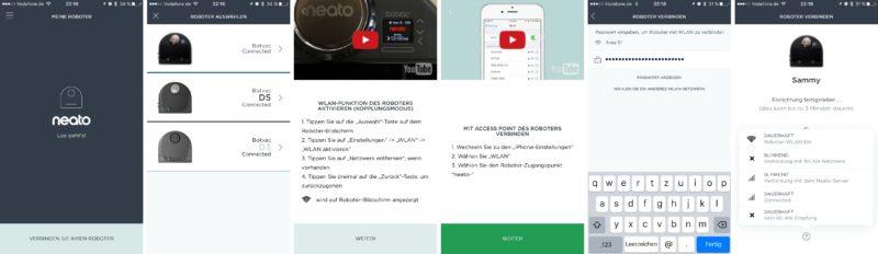 neato botvac connected ios app wlan verbindung 800x232 - Test – Neato Botvac Connected Staubsaugerroboter