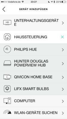 "logitech homecontrol buttons 225x400 - Logitech Harmony Companion - Haussteuerungstasten ""fremd"" belegen - HA Bridge"