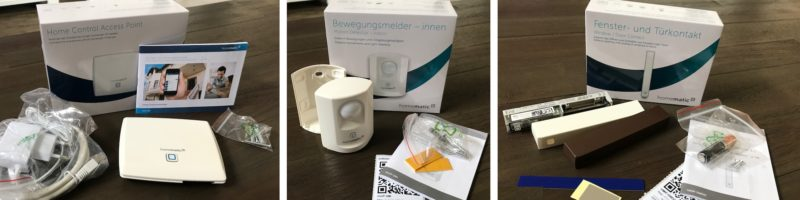 homematic ip starter set sicherheit lieferumfang einzeln 800x200 - Test – Homematic IP Starter Set Sicherheit