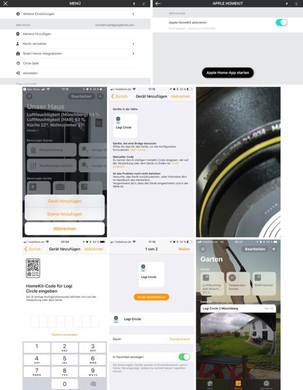 logitech circle 2 homekit anbindung 622x800 - Test – Logitech Circle 2 Kamera | 180-Grad-Objektiv | HomeKit
