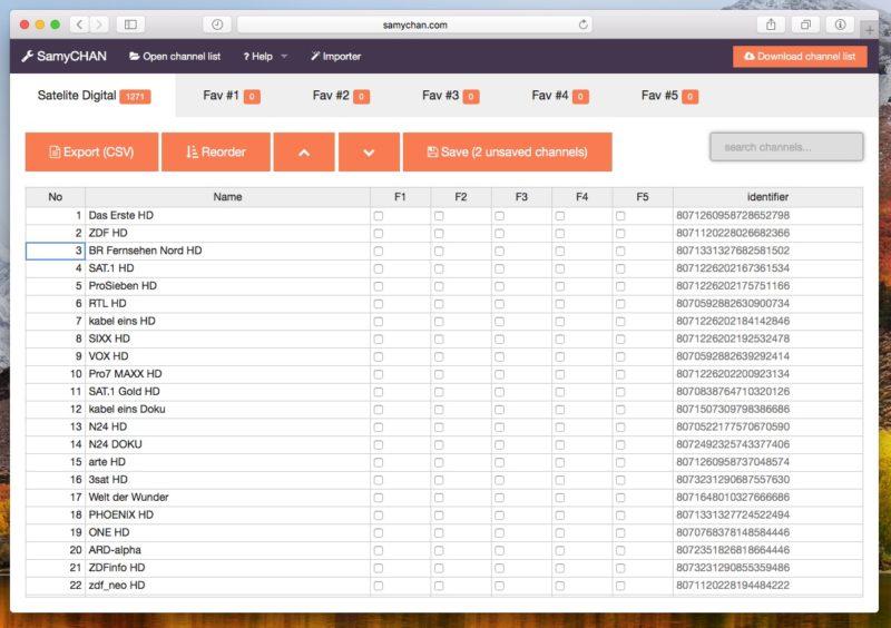 SamyCHAN 800x564 - Samsung – Senderliste mit SamyCHAN sortieren / bearbeiten (macOS, Windows & Linux)