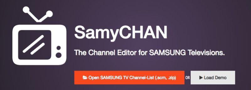 SamyCHAN Open 800x289 - Samsung – Senderliste mit SamyCHAN sortieren / bearbeiten (macOS, Windows & Linux)