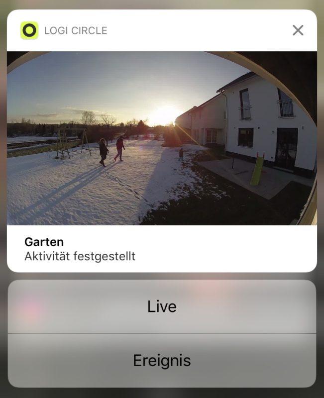 logitech circle2 update vorschau bei benachrichtigungen 651x800 - App Update - Logitech Circle 2 - Benachrichtigungen mit Vorschaubild
