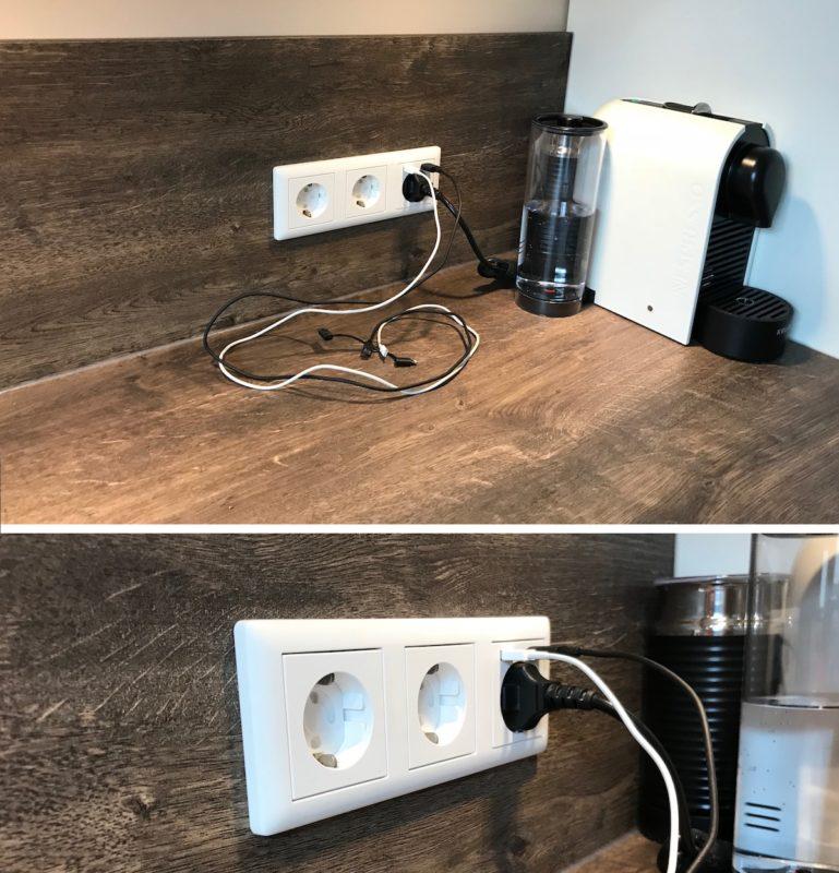 2USB inCharge PRO GIRA Steckdose Wohnzimmer GIRA Reinweiss Matt 769x800 - Test - 2USB inCharge PRO - 2 USB-Ports mit max. 2.4A und einer Steckdose