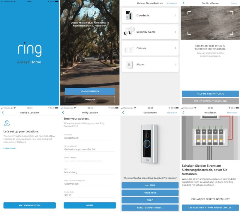 ring video doorbell pro einrichtung doorbell pro1 800x706 - Test - Ring Video Doorbell Pro - Smarte Türklingel mit Gong