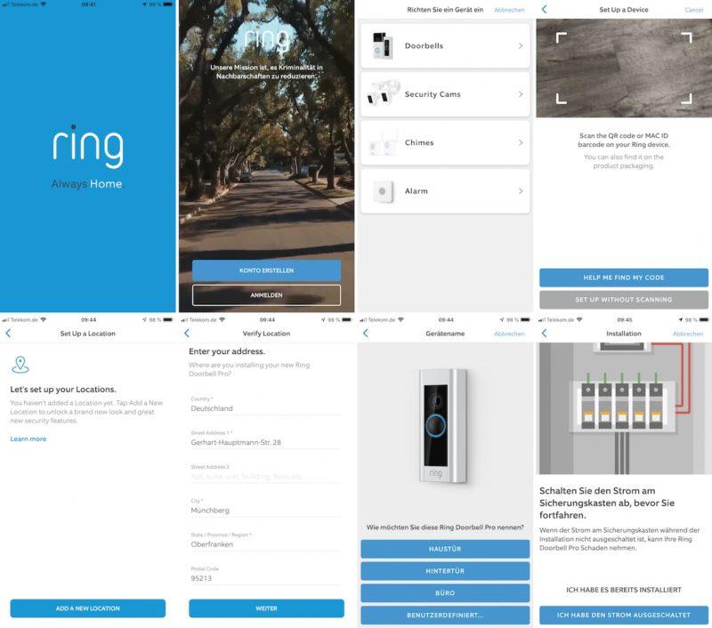 ring video doorbell pro einrichtung doorbell pro1 800x706 - Test - Ring Video Doorbell Pro - Smarte Türklingel mit Gong